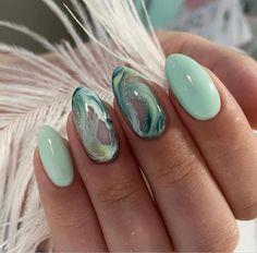 Stylish Nails, Trendy Nails, Cute Acrylic Nails, Cute Nails, Hair And Nails, My Nails, Heart Nails, Shellac Nails, Pointy Nails