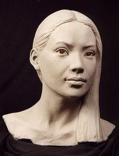 philippefaraut.com | Stone Sculptures, Full Figure Portrait Sculpting by Philippe Faraut