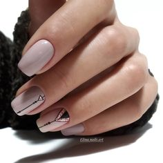 Nail art Christmas - the festive spirit on the nails. Over 70 creative ideas and tutorials - My Nails Square Acrylic Nails, Best Acrylic Nails, Acrylic Nail Designs, Shellac Nail Designs, Shellac Nail Art, Toe Nail Designs, Clear Acrylic, Latest Nail Designs, Short Nail Designs