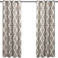 Trellis Grommet Curtain Panel   Joss & Main