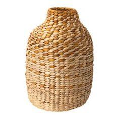 JASSA Decorative vase, water hyacinth - IKEA