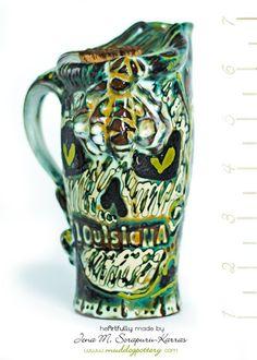 Honey Bee Skull Travel Mug