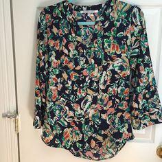 Collective Concepts floral print blouse xs Light and breezy floral blouse. Collective Concepts Tops Blouses