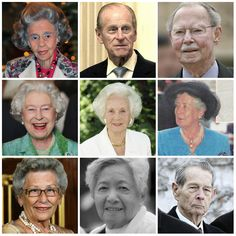 R4R Photo Spotlight: Royals Over 80  Queen Fabiola of Belgium (84)  Prince Philip, Duke of Edinburgh (91)  Grand Duke Jean of Luxembourg (92)  Queen Elizabeth of the U.K. (86)  Princess Lilian, Duchess of Halland (97)  Infanta Alicia, Dowager Duchess of Calabria (95)  Princess Astrid of Norway (80)  Atsuko Ikeda, former princess of Japan (81)  Michael, former king of the Romanians (91)