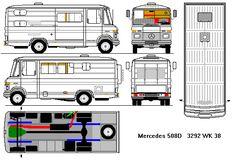 Mercedes 508D déclassé 3T5 1983 Mercedes Benz Camper, Mercedes Van, Campervan Storage Ideas, Food Vans, Van Home, Mini Bus, Classic Mercedes, Rv Campers, Mobile Home