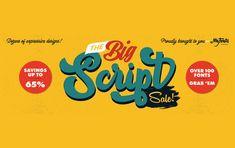 100 Fonts, Scripts, Bring It On, Company Logo, Big, Design