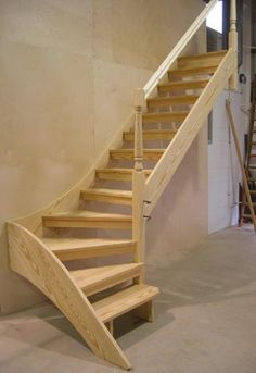 Open staircase | Design of your house - its good idea for your life