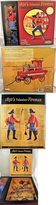 Historical Figures 175694: Nib 2003 Gearbox Action Figures 1850 S Volunteer Fireman 12 Limited Edition -> BUY IT NOW ONLY: $48 on eBay!