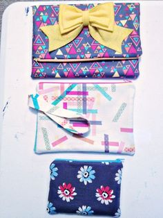 This woman has loads of awesome tutorials, this one makes cute little clutch bags :)