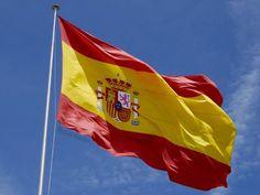 SPANJE // vlag spanje - MADRID / EU+ EURO+ EER+EVA-EBU+