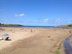 Playa de Bañugues en Gozón, Asturias