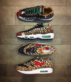 Nike Air Zapatos Max 95 'Supreme Animal Pack' Zapatos Air De Moda Principalmente 097648