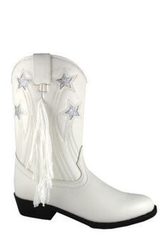 girls white cowboy boots with fringe  white cowboy boots