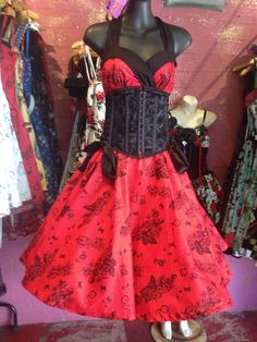 Pinup rockabilly dress at Into Camelot