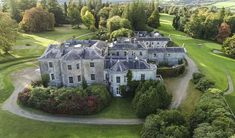 Grand Homes, Large Homes, Ireland, Marketing, Mansions, House Styles, Big Houses, Manor Houses, Villas