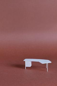 Boreau prèsidence design Jean Prouvè 1948 for Vitra. Sergio Magnano 3D printing sermag3d@gmail.com