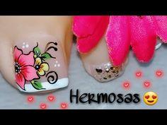 Pretty Toe Nails, Pretty Toes, Christmas Nails, Manicure, Nail Designs, Lily, Rose Nails, Nice Nails, Designed Nails