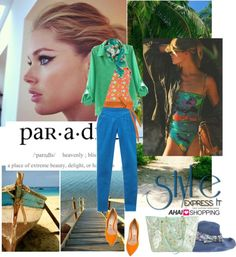 """Paradise is a place on earth"" by malussieversii ❤ liked on Polyvore"