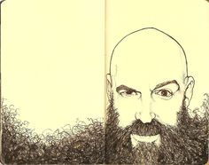 beard. How you can emphasize an aspect of your face, I.e your beard. Perhaps you could do this with hair?