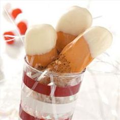 Snowcapped Gingerbread Biscotti | Organic Recipe Book