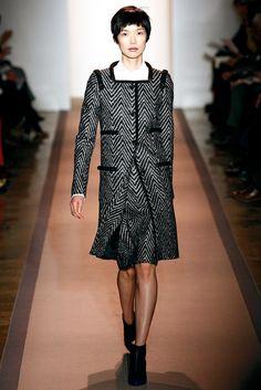 Peter Som Fall 2011 Ready-to-Wear Fashion Show - Tao Okamoto