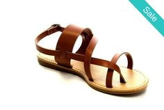Boho Thong Sandals - These great classic sandals are truly a work of art.  They speak for themselves. Very unique and flattering.  The more worn the better they look! - On Sale for $24.00 (was $39.00)