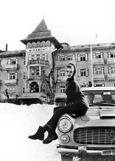 Brigitte Bardot, Cortina d'Ampezzo, 1958