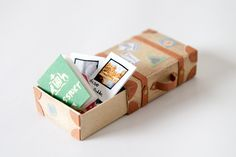 Suitcase altered matchbox by Kimmau, via Flickr