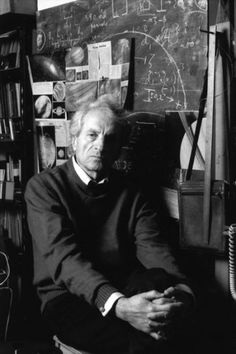The great Greek composer Iannis Xenakis // no working left eye but still really awesome