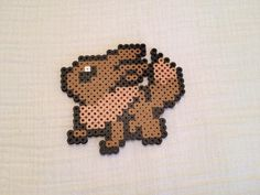 Listed is a Eevee Perler sprite based off of the Video Game/ TV show Pokemon.  If you would like to order anything custom, you can contact me here on
