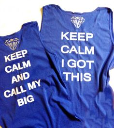 big little tank top, comfort colors tank top, Comfort colors sleevless t shirt, on Etsy, $19.00
