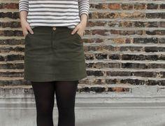 Moss Skirt by Grainline Studio