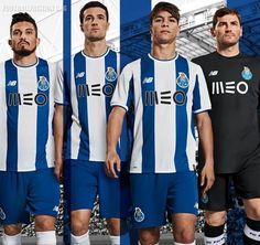 Porto Home Kit Released - Footy Headlines Football Kits, Football Soccer, Soccer Jerseys, World Soccer Shop, Fc Porto, Color Azul, New Balance, Champion, News