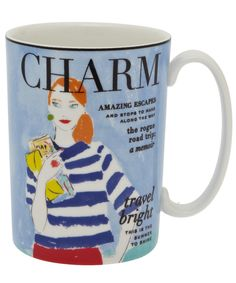 Make Headlines Travel Bright Mug, Kate Spade. Shop more from the Kate Spade collection online at Liberty.co.uk