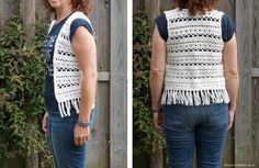 Nadat ik vorige week een Ibiza-style vestje voor Eline heb gehaakt, heb ik deze week eentje voor mezelf gehaakt!! Ik vind het vestje zoooo l...
