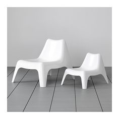 IKEA PS VÅGÖ Easy chair, outdoor - white, - - IKEA