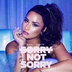 Demi Lovato is so beautiful in the cover of Sorry Not Sorry, the new music single available on 07/11