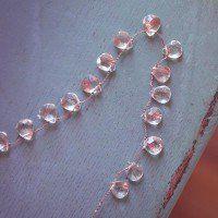 PRESERVE.us - Faceted Rutilated Quartz Teardrop Necklace