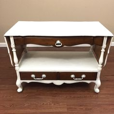SOLD - French Provincial Server Buffet - Entryway Table by madenewdesignct on Etsy https://www.etsy.com/listing/255552500/sold-french-provincial-server-buffet