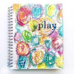 Art Journal Play . . . Upside Down on http://www.createmixedmedia.com