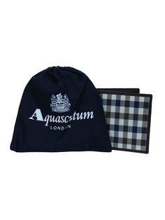Aquascutum Club Check Wallet - Brown
