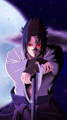 Sasuke with curse mark :) Sasuke Uchiha Sharingan, Naruto Vs Sasuke, Naruto Uzumaki Shippuden, Naruto Fan Art, Anime Naruto, Naruto Sasuke Sakura, Naruto Cute, Sasuke Sarutobi, Mitsuki Naruto