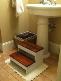 More Like Home: Day 27 - Build a Simple Step Stool (from