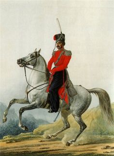 Russian Cossack of the Life Guards Regiment, Imperial Army