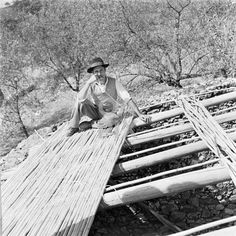 working on a traditional roof. It's no longer like this.