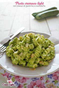 Whole Food Recipes, Cooking Recipes, Healthy Recipes, Pasta Cremosa, Light Pasta, Yummy Food, Tasty, Pesto Pasta, Vegan Foods