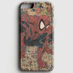Spiderman Comic Art iPhone 8 Plus Case | casescraft