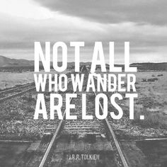 True, so true.  I've wandered our the country with this man and loved it.  Not lost at all!