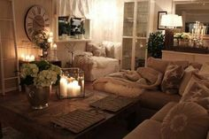 Cozy living room decorating ideas pictures cozy apartment living room decorating ideas for modern style cozy living room home decor Beige Living Rooms, Cozy Living Rooms, My Living Room, Home And Living, Living Room Decor, Modern Living, Decor Room, Room Decorations, Small Living