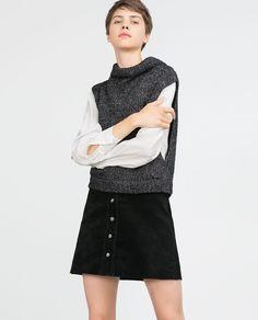 49d642105c Image 2 of WAISTCOAT WITH TURN-DOWN COLLAR from Zara White Shirts, Zara,